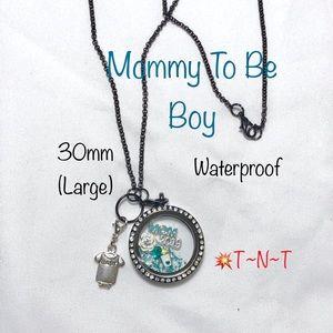 Jewelry - New Mommy (Boy) Waterproof Living Locket